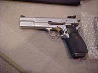 BROWNING HI POWER SILVER/CHROME 40S&W