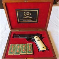COLT COMMERCIAL ACE PRE WWII 100% RARE PRESENTATION CASE