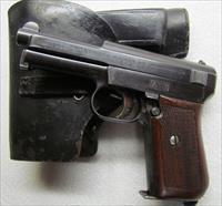 MAUSER 1914 POCKET PISTOL PRE WWII NO IMPORT MK 99% WITH ORIGINAL HOLSTER