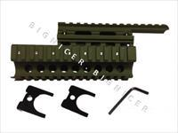 Military Green AK47 Quad Rail, Hand Guard