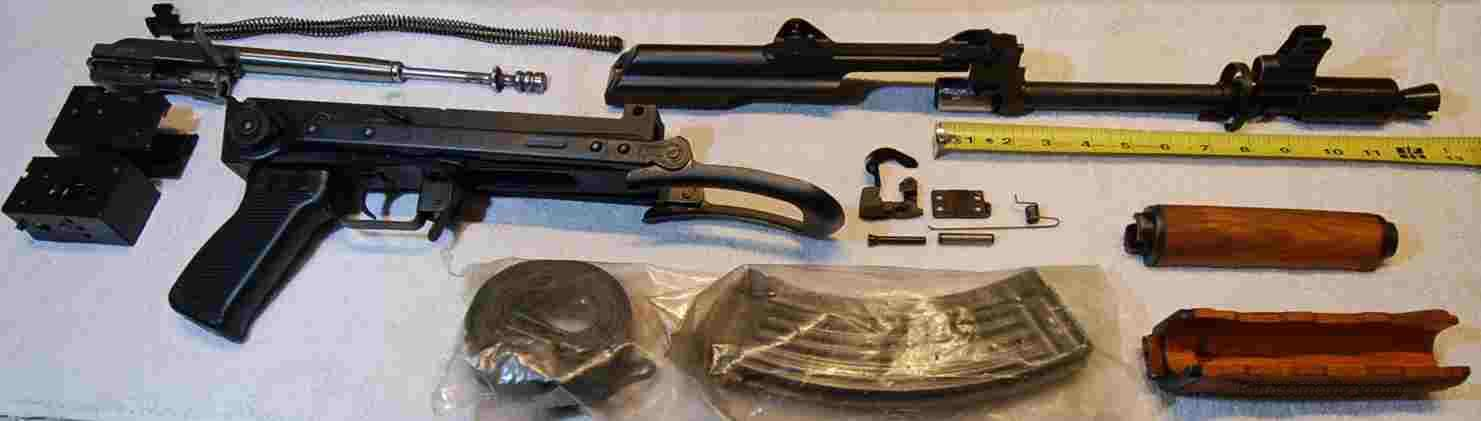 AK M92 krink parts kit, CWC milled reciever 75rdrum