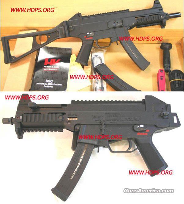 H&K UMP SEMI CIVILIAN LEGAL SBR 9mm Cal  NIB USC