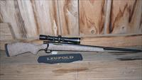 Excellent Weatherby Vanguard SUB MOA 300WSM + Leupold VX-III