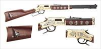 Henry Eagle Scout 100th Anniversary Ed Rifle H006ES, 44 Magum, 20 in, Walnut Stock, Blued/Brass Receiver Finish