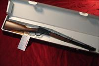 Henry Octagon Barrel Lever Action Rifle H001TV, 17 HMR, 20 in, Walnut Stock, Blue Finish