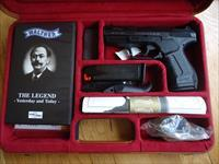 Walther P99 9mm,1 of 2000,commemorative,in attache case,target,certificate,2 mags,video,& more
