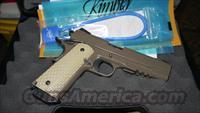 Nice Used Kimber 1911 Desert Warrior 45 acp