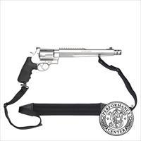 "Smith & Wesson 500 Revolver 170231, 500, 10 1/2"", Rubber Grip, Satin Stainless Finish, 5 Rd"