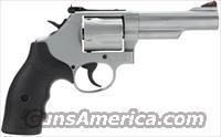 "S&W 69 Revolver .44 Magnum/.44 Special 4.25"" Barrel 5 Rounds Synthetic Grip Glass Bead Finish 90976"