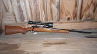 Tang Safety Ruger M77 7mm-08 Rem + Scope