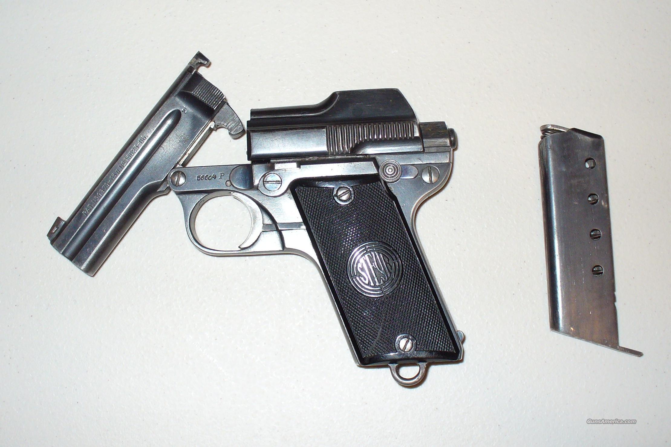Steyr Model 1908  32 ACP Pistol