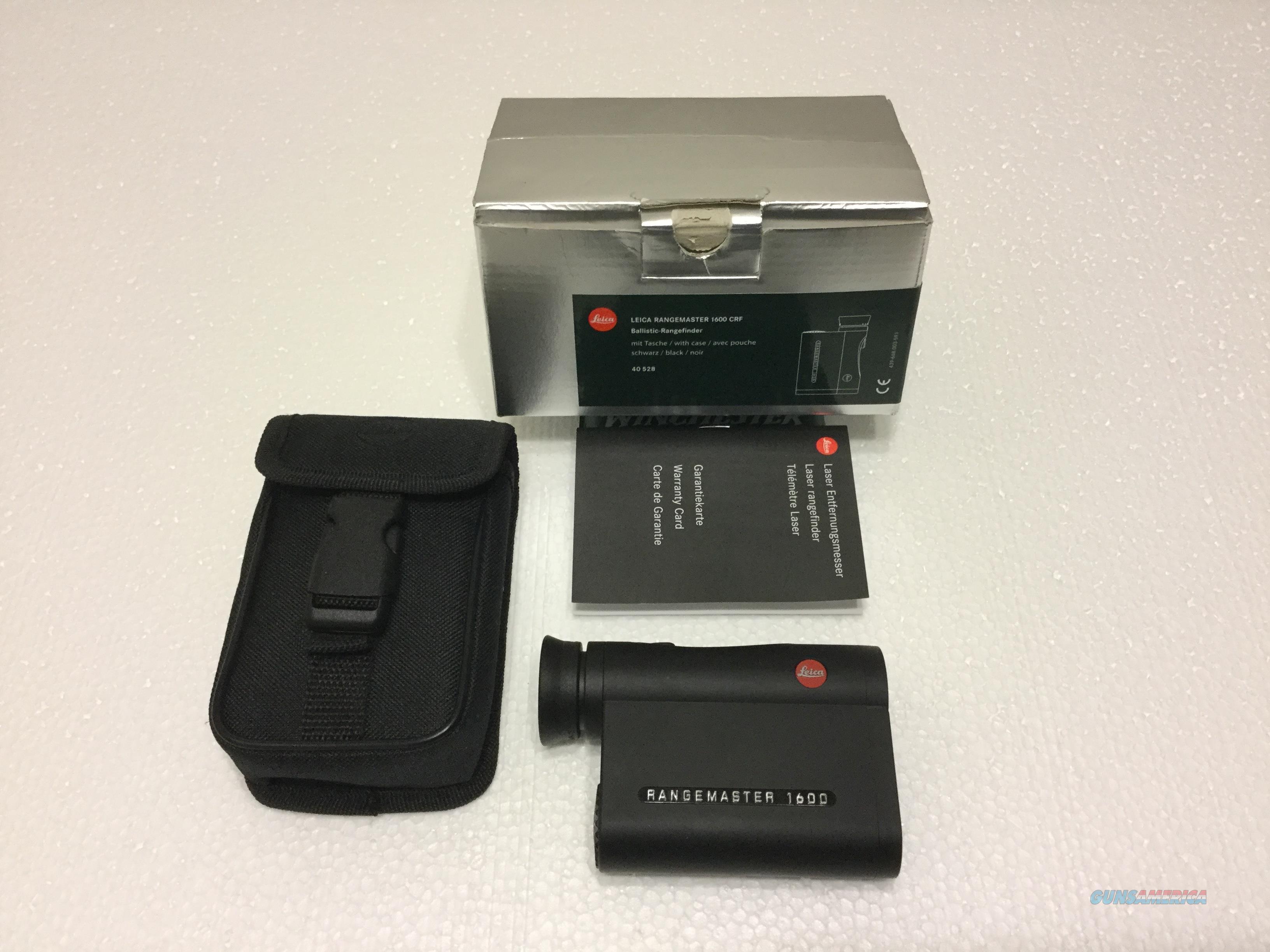 Leica Entfernungsmesser Crf 1600 : Leica u crangemaster d cfr ballistic range f for sale