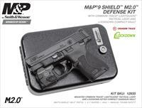 Smith & Wesson 12935 M&P 9 Shield M2.0 Defense Kit Crimson Trace Lightguard & Vault