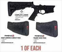 American Tactical Omni Hyb. Complete Lower w/ Stock x2 Trump 30 round Mags