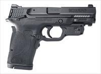 Smith & Wesson 12610 M&P380 Shield EZ THUMB SAFETY Crimson Trace Green Laser