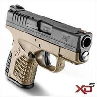 "SPRINGFIELD ARMORY XDS FDE 9mm ""NEW"" NO CREDIT CARD FEE One 7 rd. & One 8 rd.mag"