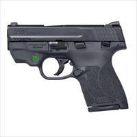 SMITH AND WESSON M&P9mm SHIELD M2.0 SAFETY GREEN CT LASER