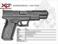 SPRINGFIELD ARMORY XD(M) 10MM 5.25 3-15 mags XDM952510BHCE