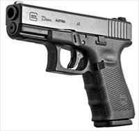 GLOCK G23 GEN4 40cal. MADE IN US 3-13 mags, extra back staps