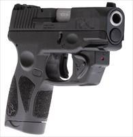 Taurus G2S 1G2S931VL with Viridian Laser 9mm (2) 7+1 mags THUMB SAFETY