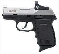 SCCY CPX-2 RD DAO 9mm (2) 10 RND Mags with a Crimson Trace CTS-1500 Reflex Sight CPX-2TTRDDE