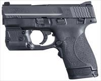 Smith & Wesson M&P9 Shield M2.0 11811 9mm 7+1/8+1 Crimson Trace Green Laserguard Pro laser/light