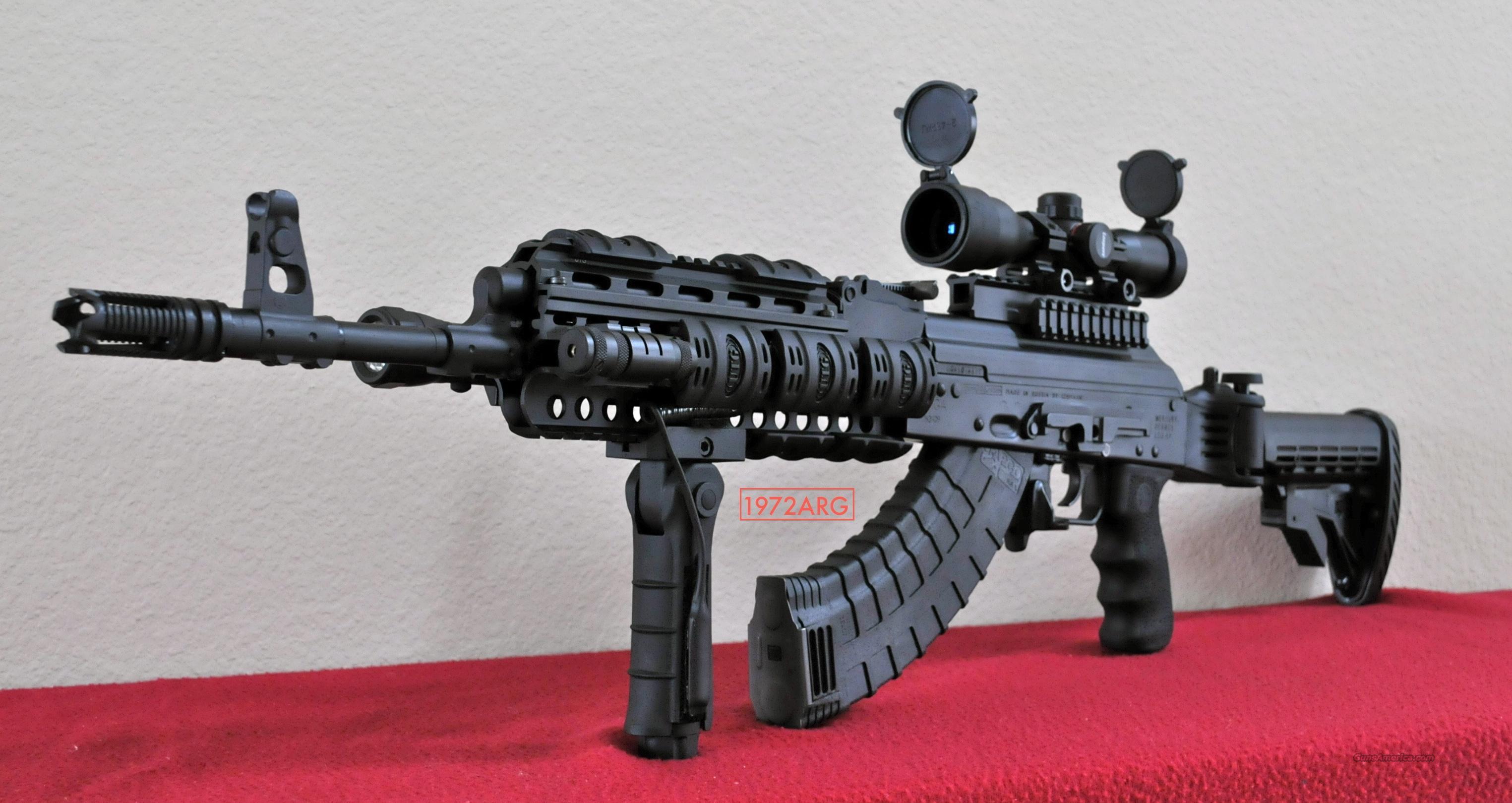 SAIGA AK 47 KIROV TACTICAL SERIES