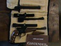 Thompson Contender 22lr 22 Hornet 44 Mag mfg 1980  **** PRICE REDUCED****