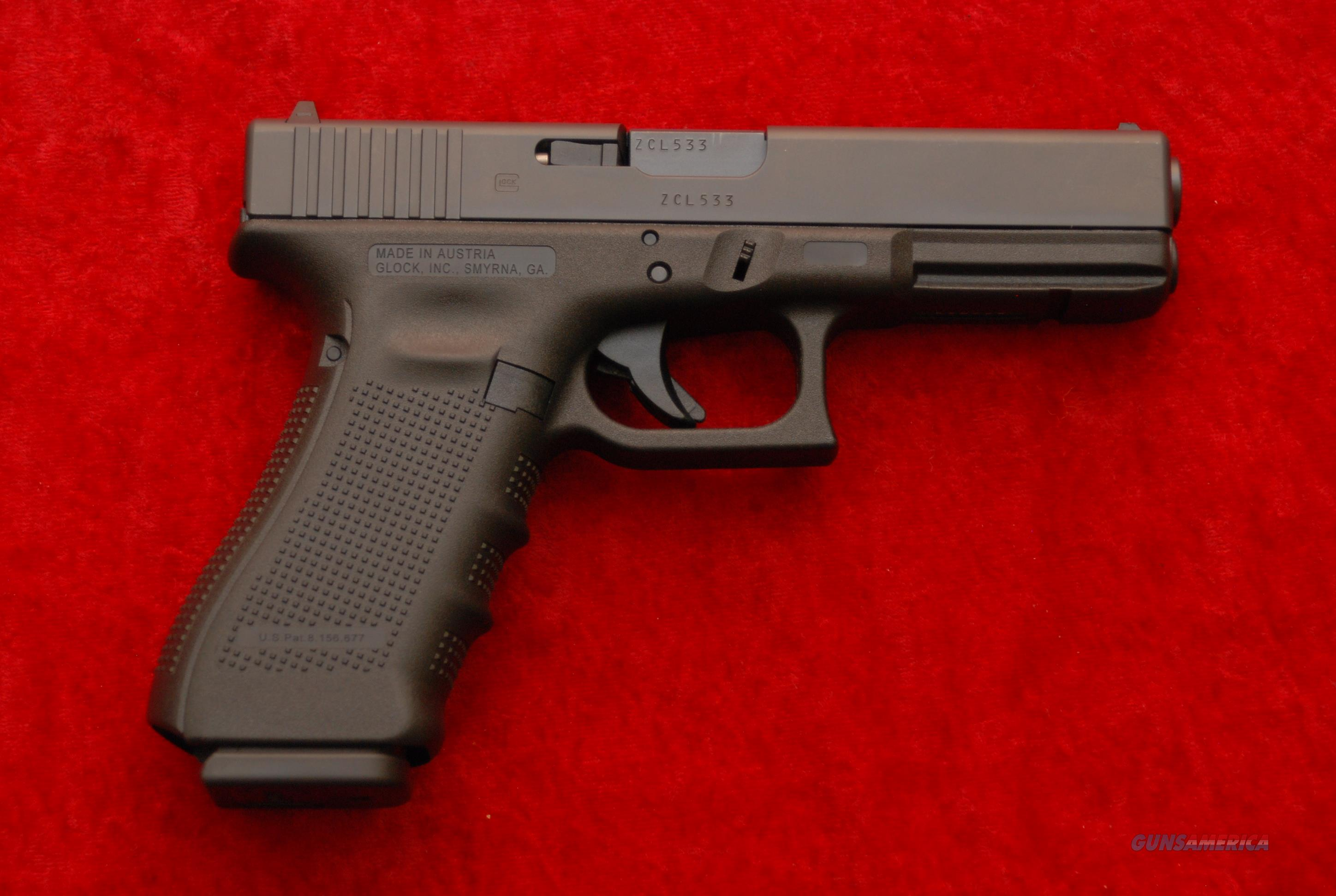 Glock 17 Gen 4 9mm for sale