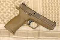 S&W M&P .40 S&W VTAC FDE with Apex Trigger