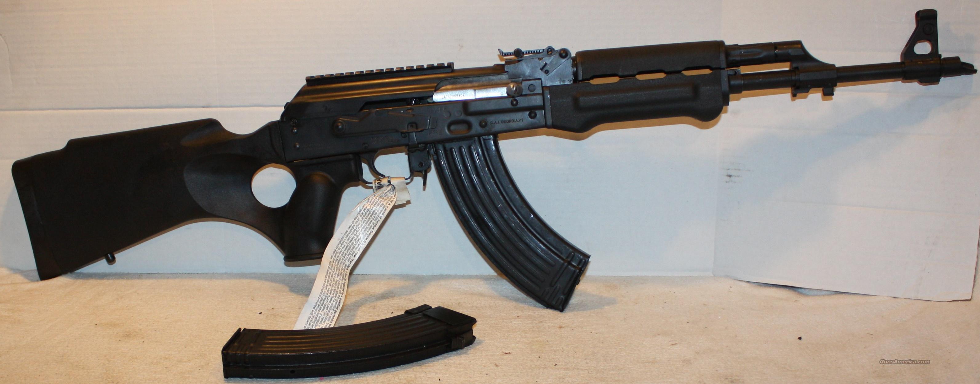 Zastava N-PAP HI-CAP Semi-Auto Rifle With Thumbhole Stock & Polymer  Handguard, Picatinny Scope Mount, Caliber 7 62x39mm