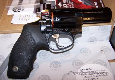 Taurus M605 Blue 357 Mag With 3 Inch Barrel and Side Mount Laser