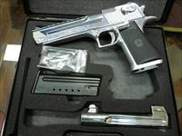 "Desert Eagle 50AE & 44MAG  6"" Polish Chrome"