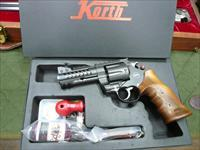 "KORTH NXR/357MAG/8-ROUNDS  4"", NIB (SINGLE-ACTION ONLY FOR CA)"