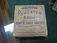 Vintage 1901 Winchester 100rd paper shot shells 16ga (empty)