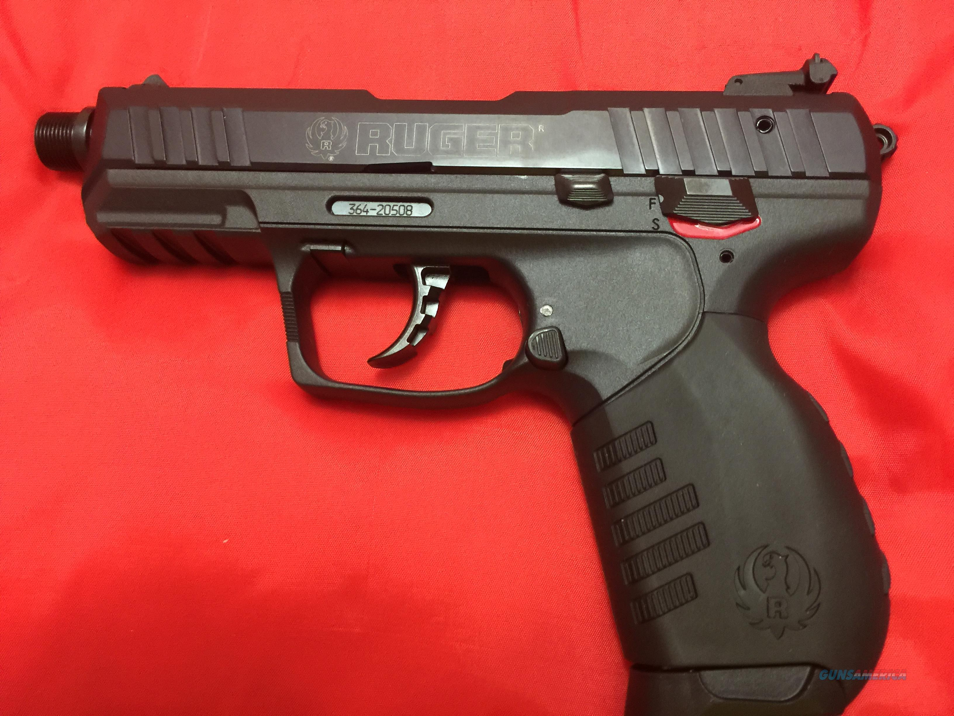 Ruger Sr22 With Threaded Barrel And 2 Magazines For Sale