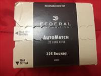 Federal 22 LR AMMO, 6 boxes of 325 each or 1950 rounds