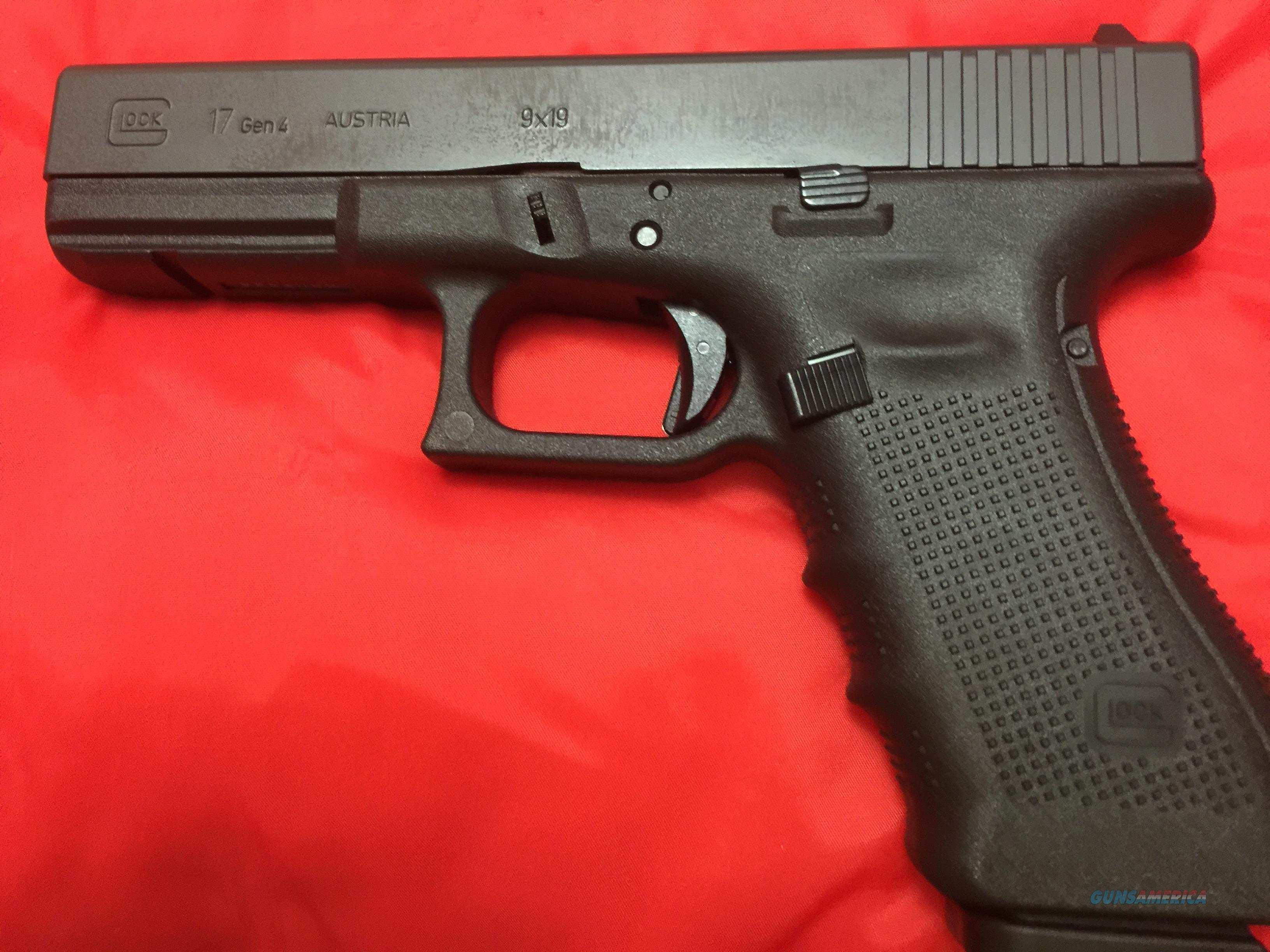 glock 17 gen 4 three 17 round magazines new for sale
