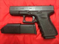 Glock 19 Gen 3 with 2 high capacity magazines