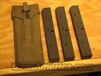 Three UZI Mags & Surplus Magazine Pouch 9mm 32rd