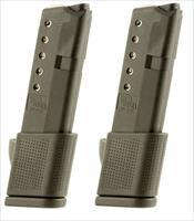 2 Glock 42 Magazines 380 ACP 10rd Extended PRO MAG