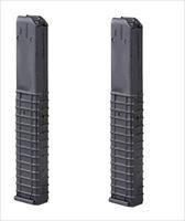 2 COLT AR-15 SMG Magazine 9mm Carbine PRO MAG 32rd
