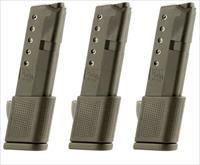 3 Glock 42 Magazines 380 ACP 10rd Extended PRO MAG