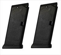 2 Glock 33 Magazines 357 SIG 9rd New OEM G33 MAG