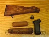 AK-47 Wood Rifle Stock Set & Pistol Grip AK47