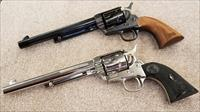Colt SAA Centennial Set US. 45 & 44-40 Caliber Peacemakers w/ Display Cases