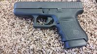 Used Glock 36 .45 acp w/ (5)  6 Round Mags and Trijicon HD Night Sights