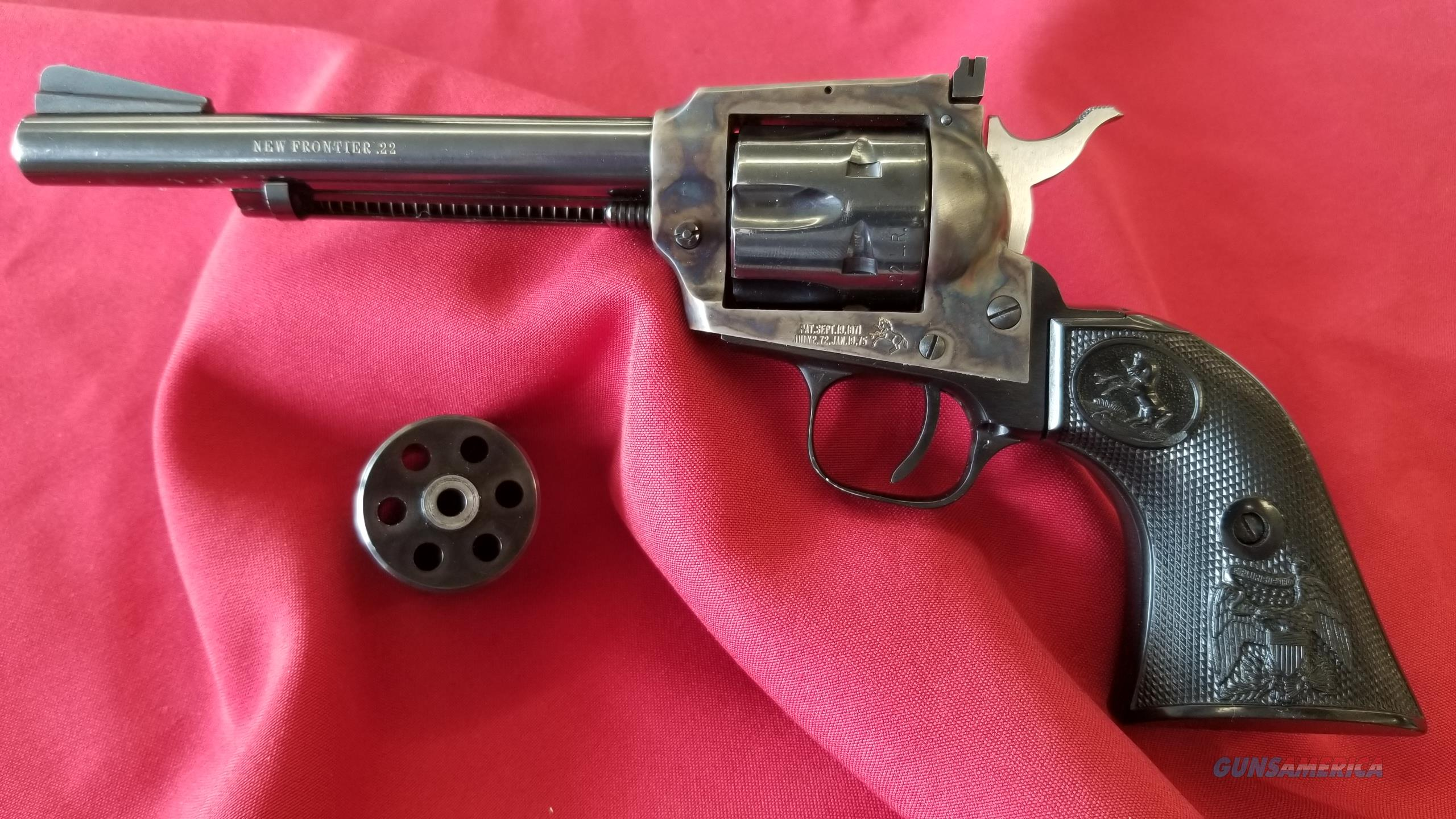 Pre-Owned Colt New Frontier Scout  22 LR/22 Magnum w/ Additional Cylinder