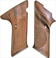 Colt Woodsman 2nd Series, Checkered Walnut Grips, Thumb Rest