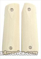 Ruger MKIII .22 Auto Real Ivory Checkered Grips